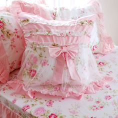 pretty & pink bedding