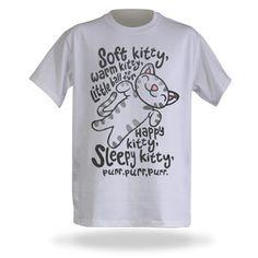 $18.99 Soft Kitty Shirt Large