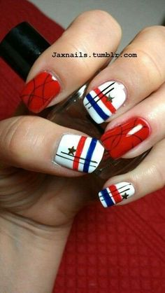 4th July Nail Art Designs Patriotic Spirit – 55 picture