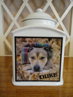 Pet Urn Memorial Personalized Dog Cat Photo by MuttsAndFurballs Memorial Urns, Dog Memorial, Pet Urns, Dog Boarding, Pet Names, Pet Memorials, Fur Babies, Dog Cat, Memories