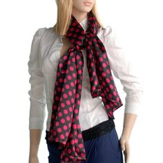 Blancho Bedding -Blancho Red Spots & Black Base Lovely Super Soft Silk Scarf/Wrap/Shawl(Small) Blan by Blancho Bedding. $30.00. It is light, natural, soft, smooth touch, and stylish.