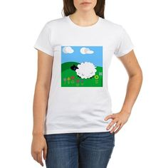 Sheep in Meadow T on CafePress.com