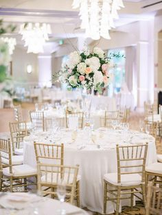 Gold Chairs, Receptions, Wedding Bells, Wedding Centerpieces, Anniversary, Table Decorations, Weddings, Furniture, Home Decor