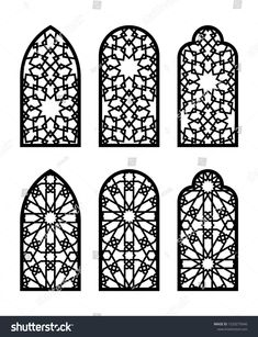 Find Islamic Arch Window Door Set Cnc stock images in HD and millions of other royalty-free stock photos, illustrations and vectors in the Shutterstock collection. Islamic Art Pattern, Arabic Pattern, Pattern Art, Cnc Cutting Design, Laser Cutting, Arabesque, Motifs Islamiques, Gravure Illustration, Laser Cut Panels