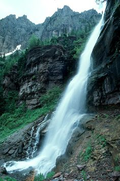 Bear Creek Falls, Telluride, CO © Marsha K. Russell