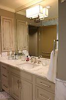 Calacutta Marble Vanity Countertop European Stone & Tile Design, Kirkland, WA