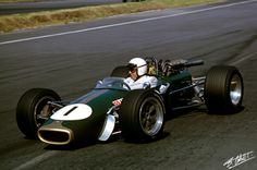 1967 GP Meksyku (J. Brabham) Brabham BT24 - Repco