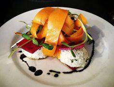 <3 Beet Ravioli <3 100% Raw & Vegan! <3 Cafe Blossom <3 NYC <3 #MyVeganJournal