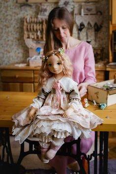 5 Basic Birth Steps of a Textile Doll, фото № 9 Doll Clothes Patterns, Doll Patterns, Dress Patterns, Doll Crafts, Diy Doll, Sewing Dolls, Waldorf Dolls, Doll Shoes, Soft Dolls