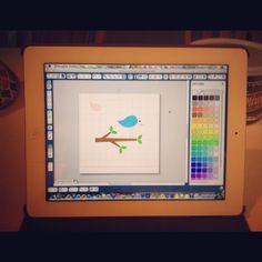 Using Silhouette Studio Software on IPAD