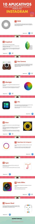 10 Aplicativos para melhorar suas fotos e vídeos no Instagram