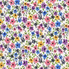 CX6886 FORGET ME KNOW WHITE flowers florals butterfly garden