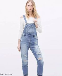 Jardineira Feminina Jeans - Jardineira | DMS Boutique