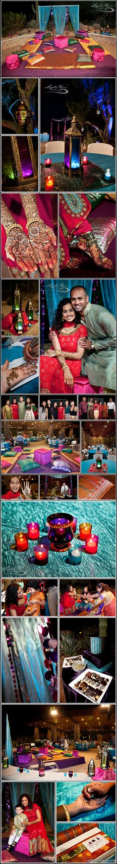 Jago/Sangeet Setup. Indian wedding. #shaadibazaar, #indianwedding