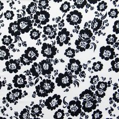 28 best floral print black white images on pinterest floral 020 floral print black white mightylinksfo