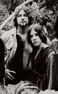 Lindsey Buckingham and Stevie Nicks, 1973.