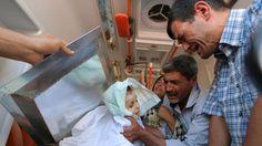 Las dramáticas escenas del entierro de Aylan Kurdi | Aylan Kurdi, Kobane - América