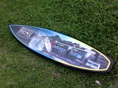 WT 2014 Billabong Rio Pro. Cor da Prancha, artwork, surfboard, diy, decoration, design.