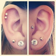 Ear piercings :)