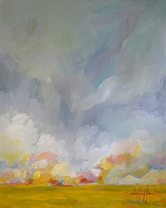 Grace in the Winds, 16x20 inch oil landscape painting by Emily Jeffords
