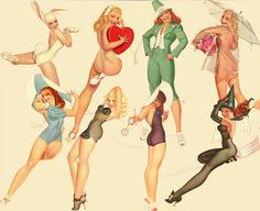 Pin-ups are part of the original Old School tattoo design, perhaps the first modern tattoo style trend, dating back to the 1950s.