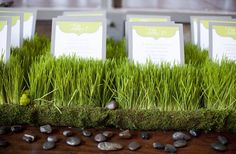 green gray wedding color palette. Wheat grass >> Basket loves grass! Maybe this with sparklers stuck in it...