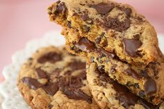 Salted Caramel Dark Chocolate Chunk Cookies