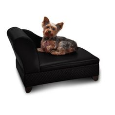 @Overstock - Your pet will love this comfortable pet sofa. This Enchanted Home furniture-quality chaise lounge has an attractive basket weave design and easy-to-clean black polyurethane cushion. It holds pets up to 12 pounds and has a convenient storage drawer.http://www.overstock.com/Pet-Supplies/Enchanted-Home-Pet-Black-Storage-Sofa-Bed/6820510/product.html?CID=214117 $69.99