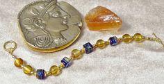 Royal Blue Murano Glass Bracelet £37.50