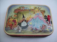 Alice In Wonderland Mad Hatter Sewing Kit Tin Hobby Craft Sweetie Box Gift AW02