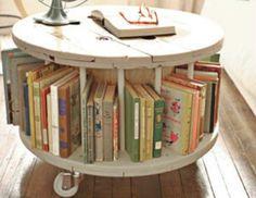 Sie haben natürlich den normalen Bücherschrank oder einiger Bretter an der Wand…