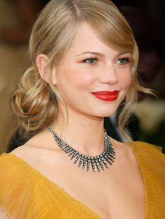 2006 Oscars - Michelle Williams - Best Oscar Looks of All Time: Beauty Trends: allure.com