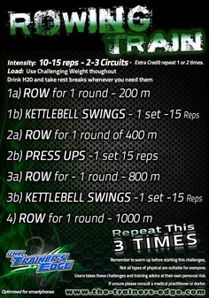 Definitely not a three time repeater, I think once will suffice, maybe upping the KB swings and presses.