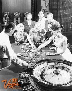 Roulette at the Flamingo Las Vegas Hotel & Casino, late 1950s.
