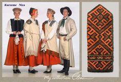 Kurzeme Latvian costumes