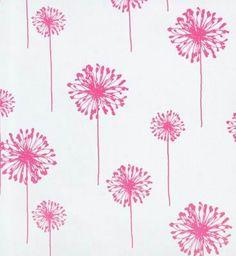 Dandelion Hot Pink – Polka Tot Designs
