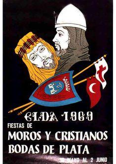 Fiestas de Moros y Critianos, Elda, 1969
