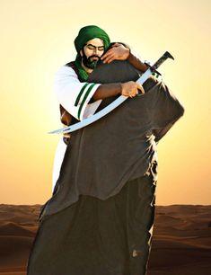 shia Hazrat Ali, Imam Ali, Salam Ya Hussain, Imam Hussain Wallpapers, Shia Islam, Islamic Calligraphy, Religious Art, Warriors, Spirituality