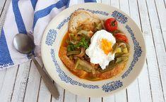 Deliciosa paparoca: Sopa de Ovos com feijão verde e hortelã