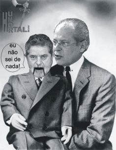 Brasil-Lula-2006-Charge-Lula & PT-Eu não sei de nada