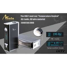 IJOY ASOLO 200W TC BOX MOD