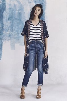 Madewell's Spring Collection | A Cup of Jo - stripes, kimono