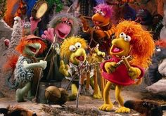 Down at Fraggle Rock!!!  Some please bring back the Muppets!