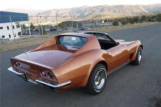 1973 Chevrolet Corvette T-Top Corvette C3, Chevrolet Corvette, My Dream Car, Dream Cars, Chevy, Barrett Jackson Auction, Us Cars, Collector Cars, American Muscle Cars