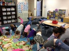 using yoga to increase the impact of oral storytelling by pairing it with movement