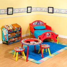 Genial Mickey Mouse Bedroom ~ Decor Mickey Mouse Toddler Bed, Mickey Mouse Room,  Minnie Mouse