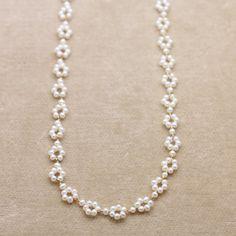 拡大イメージ表示 Seed Bead Jewelry, Bead Jewellery, Cute Jewelry, Beaded Jewelry, Jewelry Accessories, Jewelry Design, Beaded Bracelet Patterns, Beaded Bracelets, Diy Beaded Rings