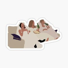 Preppy Stickers, Cool Stickers, Laptop Stickers, Friend Cartoon, Sticky Paper, Wall Paper Phone, Drawings Of Friends, Chandler Bing, Tumblr Stickers