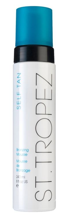 Summer-ready skin! Top-rated self-tan bronzing mousse.