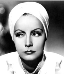 Greta Garbo shows what a great face and a turban can do.